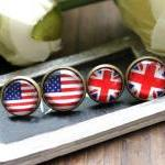 Cute Flag Earrings