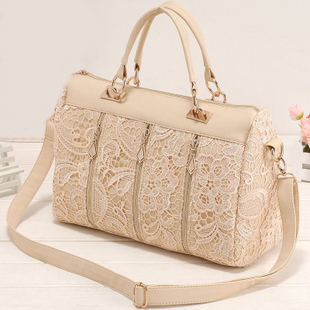 grd03060]Nice Unique White Lace Handbag Shoulder Bag on Luulla