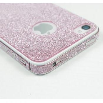 Shiny Rhinestone Full Body Cover Skin Sticker Shield For iPhone 4S